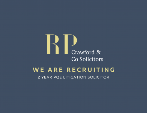 We Are Recruiting 2 Year PQE Litigation Solicitor